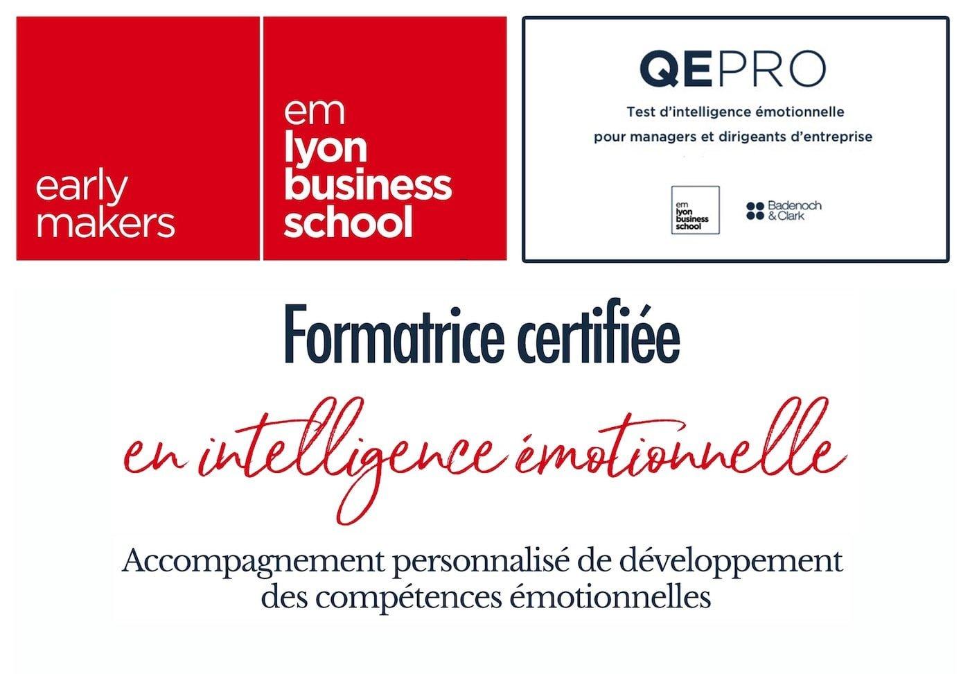 Formatrice certifiée en intelligence émotionnelle